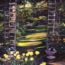 David Lloyd Glover - Tulips Of Gold
