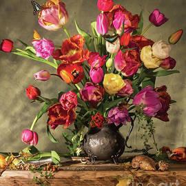 Jon Wild - Tulips with Butterflies