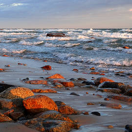 Dianne Cowen - Turbulent Sea at Dawn