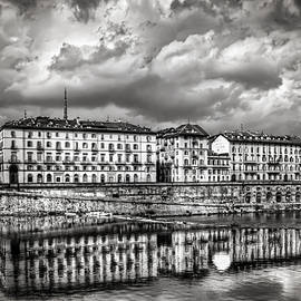 Carol Japp - Turin Shrouded in Cloud