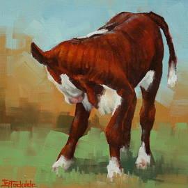 Margaret Stockdale - Turning Calf