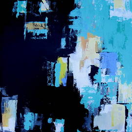 Brooke Baxter Howie - Turquoise Abstract 1