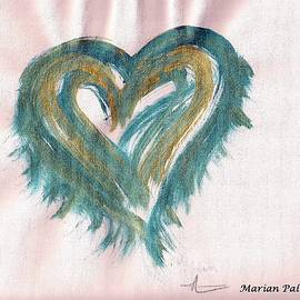 Marian Palucci - Turquoise Light Heart