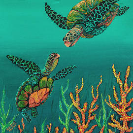 Darice Machel McGuire - Turtle Love