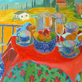 Tuscan Terrace - William Ireland