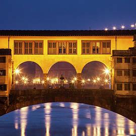 Twilight over the Ponte Vecchio - Andrew Soundarajan