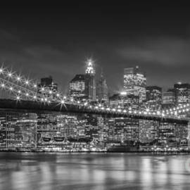 Henk Meijer Photography - Twinkle, twinkle Brooklyn Bridge