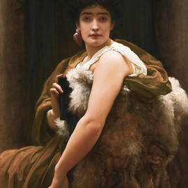 Twixt Hope and Fear - Frederic Leighton