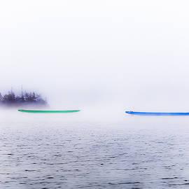 Gord Follett - Two Boats in the Fog