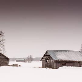 Jukka Heinovirta - Two Crooked Barn Houses