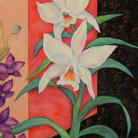 Sharon Nelson-Bianco - Two Delightful Orchids
