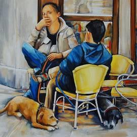 Jean Cormier - Two Dogs Two Men