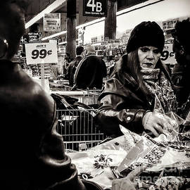Miriam Danar - Two For A Dollar - People Of New York - sepia