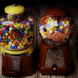 Two Gumball Machines - Garry Gay
