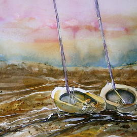 Shirley Sykes Bracken - Two Little Sail Boats