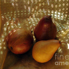 Georgia Sheron - Two Red And One Gold Pears