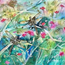 Diane Splinter - Two Summer Dragonflies