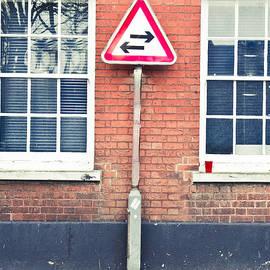 Two way sign - Tom Gowanlock