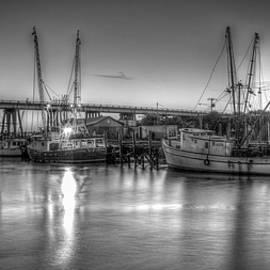 Reid Callaway - Tybee Island Shrimp Boat Reflections Tybee Island Georgia