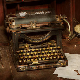 Mike Savad - Typewriter - My bosses office