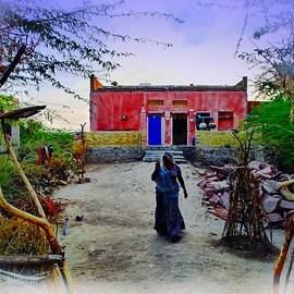 Sue Jacobi - Typical House India Rajasthani Village 1k