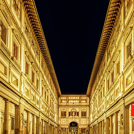 Uffizi at Twilight - Andrew Soundarajan