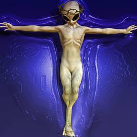 Joaquin Abella - UFO Christ By Quim Abella
