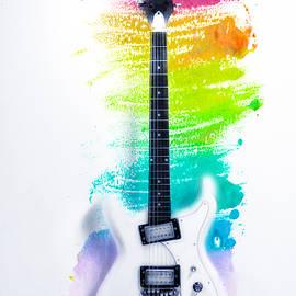 Bill Cannon - Ultravox Guitar Watercolor BG