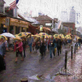 Steven Parker - Umbrella Marchers