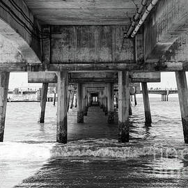 Under Belmont Veterans Memorial Pier - Ana V Ramirez