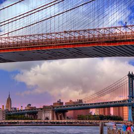 Joann Vitali - Under the Brooklyn Bridge - New York City
