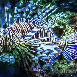 Mona Stut - Underwater Lion