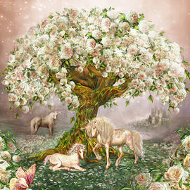 Carol Cavalaris - Unicorn Rose Tree
