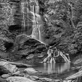 Stephen Stookey - Upper Catawba Falls - bw