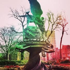 Mae Coy - Uptown Manhattan Park Scenery  #scenery
