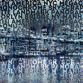 Urban-Art NYC Brooklyn Bridge I - Melanie Viola
