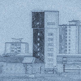 Martin Wall - Urban Blue