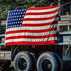 Black Brook Photography - US Army Truck Patriotism