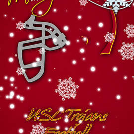 USC TROJANS CHRISTMAS CARD - Joe Hamilton