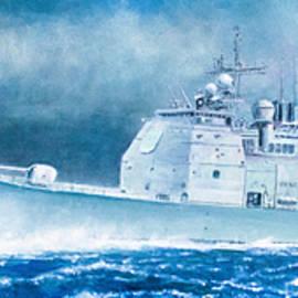 Douglas Castleman - USS Cape St George