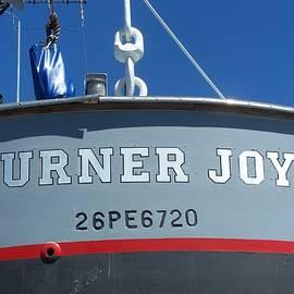 Patti Walden - USS Turner Joy Gig Stern