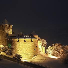 Aymeric Gouin - Vaduz Castle at Night