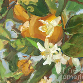 Blair Updike - Valencias in Bloom