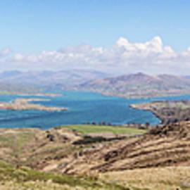Valentia Island Countryside Panoramic