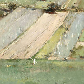 Valley of the Seine, Giverny - Theodore Robinson