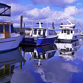 Barbara St Jean - Vancouver Harbour Reflections