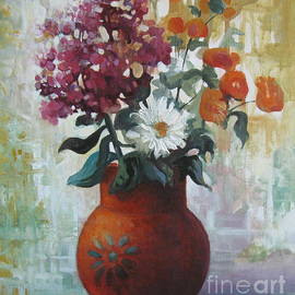 Elena Oleniuc - Vase of flowers