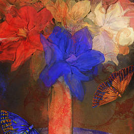 Mindy Sommers - Vase with Magnolias