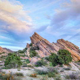 Ken Wolter - Vasquez Rocks Natural Area Park at Sunset