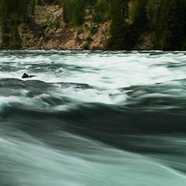 Jeff Swan - Veiw of the La Hardy rapids